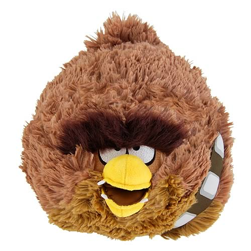 "Commonwealth Star Wars Angry Birds Chewbacca 12"" Plush"